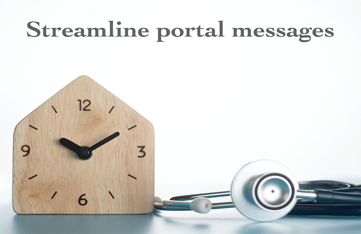 streamline portal messages
