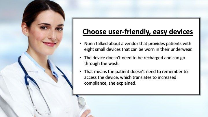 choose user friendly, easy devices