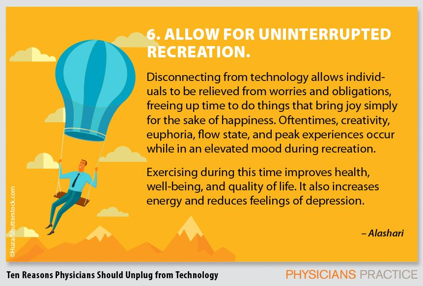 6. Allow for uninterrupted recreation.