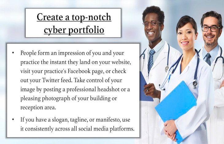 Create a top-notch cyber portfolio