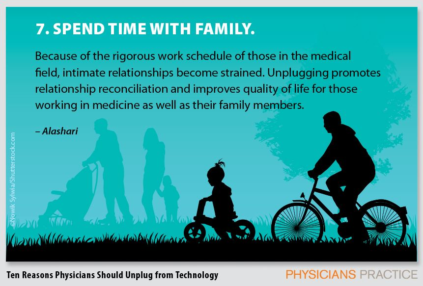 7. Spend time with family.