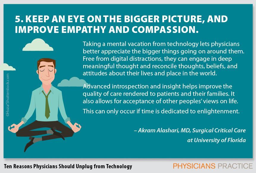 5. Keep an eye on the bigger picture, and improve empathy and compassion.