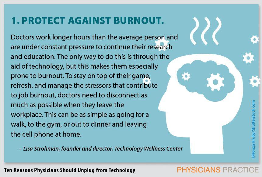 1. Protect against burnout.