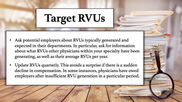 Target RVUs