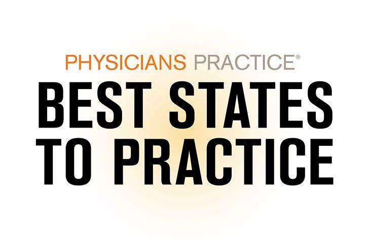 The best states to practice