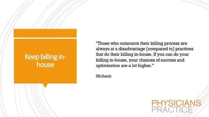 Keep billing in-house