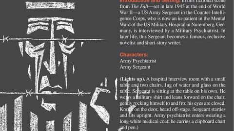 Scene From The Fall: Mental Ward US Military Hospital, Nuremberg, Germany