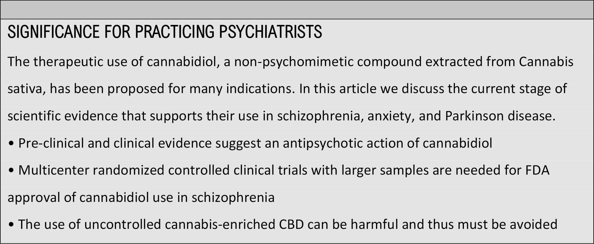 CBD OIL FOR PSYCHOSIS & SCHIZOPHRENIA ...