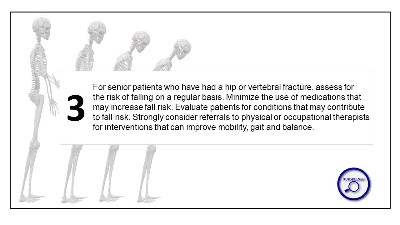 New Osteoporosis Guidelines Support Multi-Disciplinary Treatment