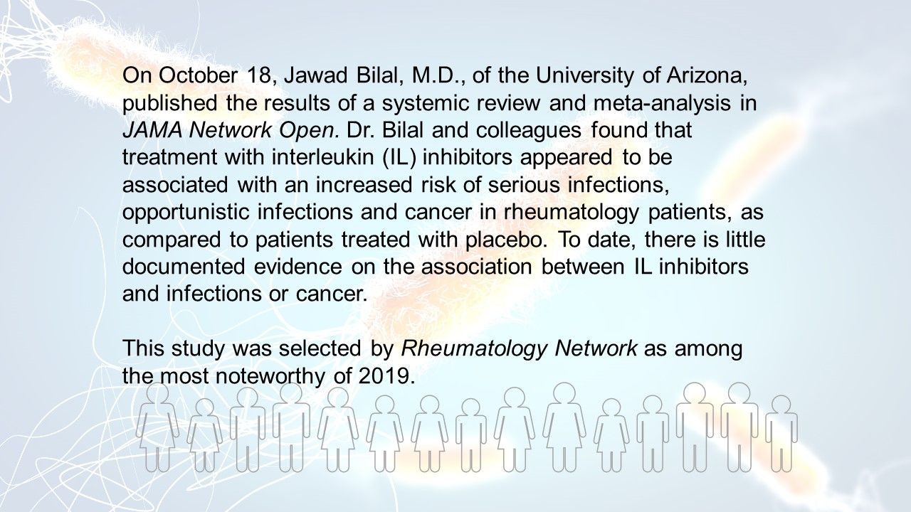 Number Needed to Harm: Opportunistic Infections of IL Inhibitors in Rheumatology