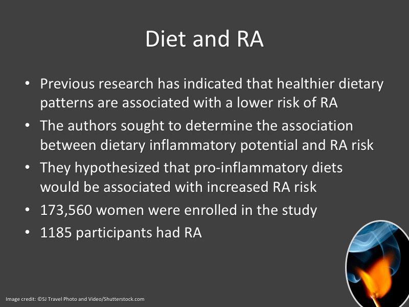 rheumatoid arthritis diet inflammation