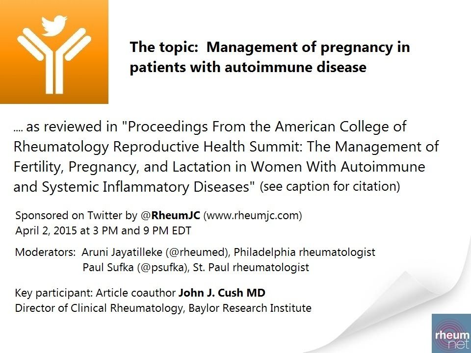autoimmune diseases pregnancy