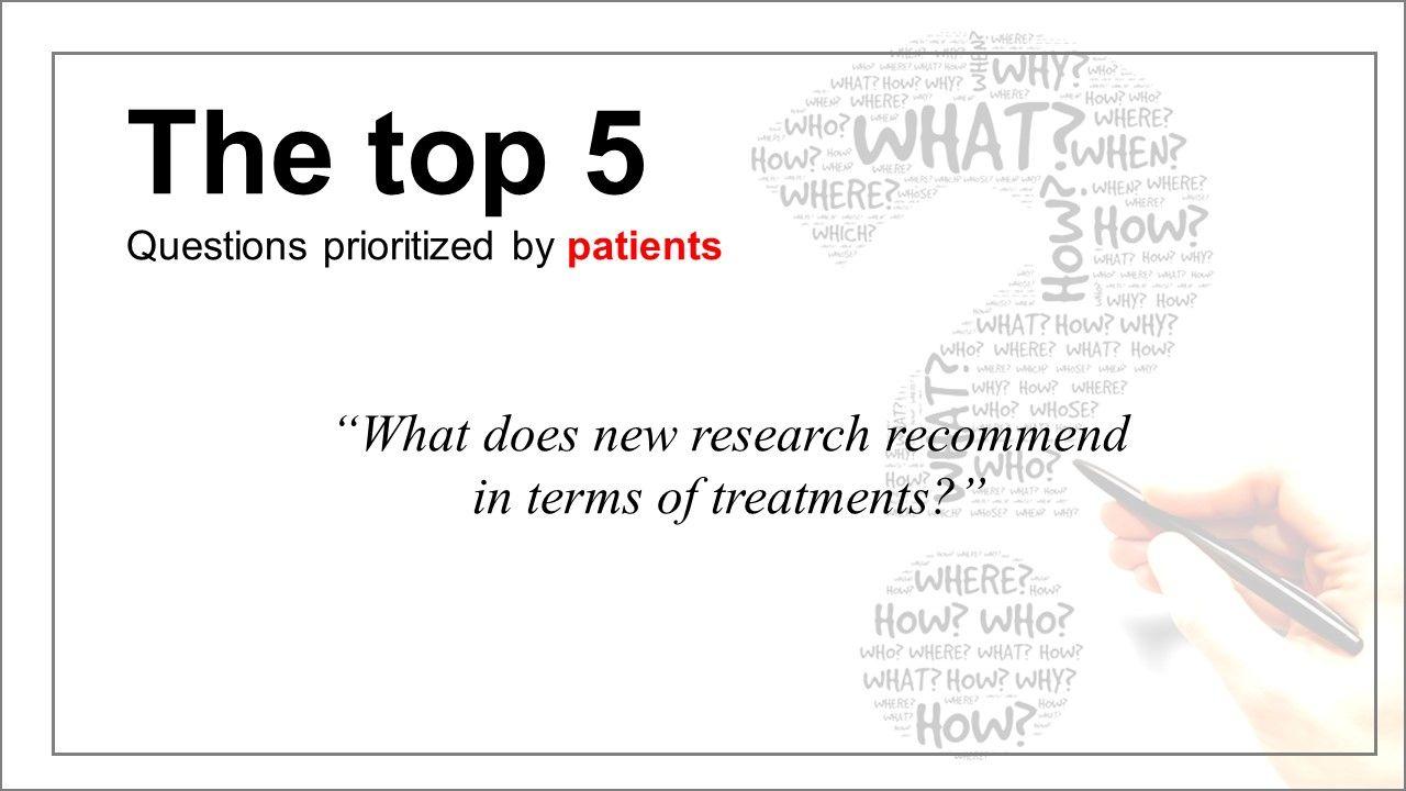 Patient-Doctor Priorities Differ in Osteoarthritis