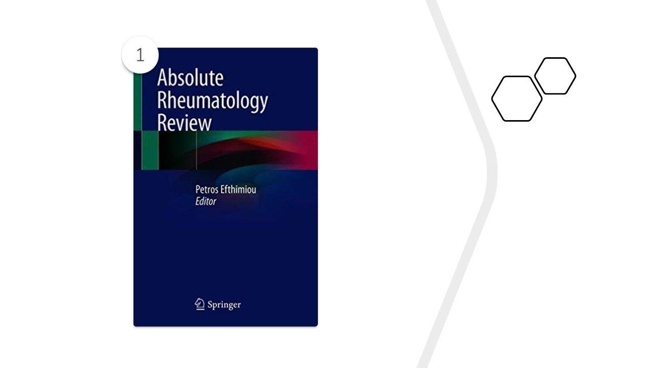 """Absolute Rheumatology Review,"" edited by Petros Efthimiou, publish"