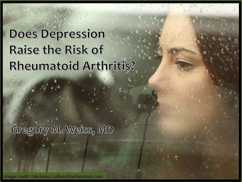 depressed young woman depression rheumatoid arthritis