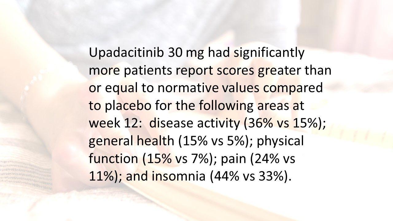 RA Quiz: How well does upadacitinib fare as RA treatment?