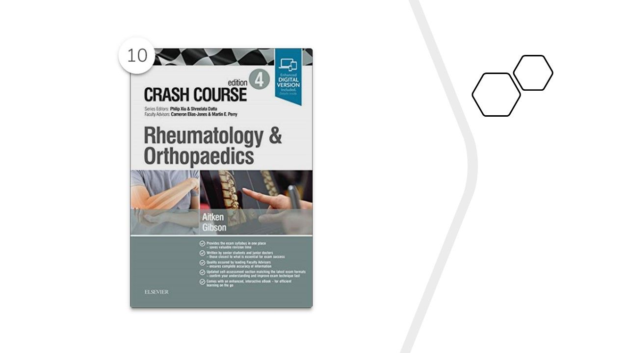 """""""Crash Course Rheumatology and Orthopaedics,"""" by Marc Aitken MBChB MRCP,  Anthon"""