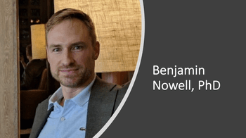 Benjamin Nowell, PhD: Mindfulness Program for Patients With Rheumatic Disease