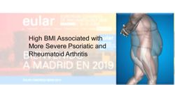 High BMI Associated with Psoriatic Arthritis and Rheumatoid Arthritis