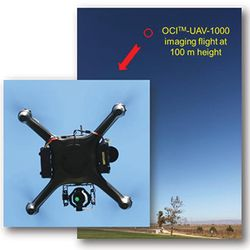 Aerial Hyperspectral Imaging by BaySpec OCI Hyperspectral Imagers