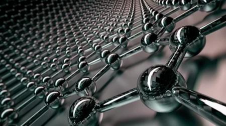 Metal balls linked together