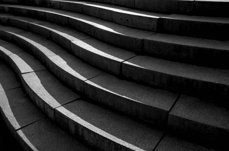 Cement stairs