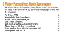 Vendor Perspectives - Atomic Spectroscopy