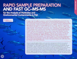 Rapid Sample Preparation and Fast GC–MS-MS for the Analysis of Pesticides and Environmental Contaminants in Fish