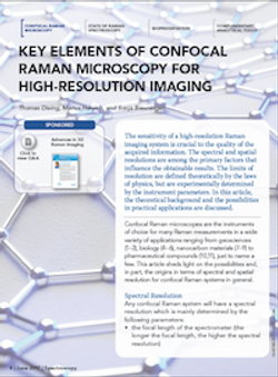 Key Elements of Confocal Raman Microscopy for High-Resolution Imaging