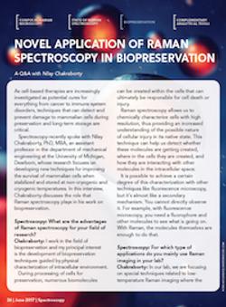 Novel Application of Raman Spectroscopy in Biopreservation