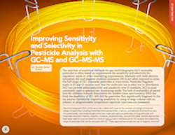 Improving Sensitivity and Selectivity in Pesticide Analysis with GC–MS and GC–MS-MS