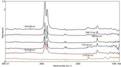 FT-IR Microscopic Analysis of Polymer Laminate Samples Including Transmission and ATR Spectroscopy