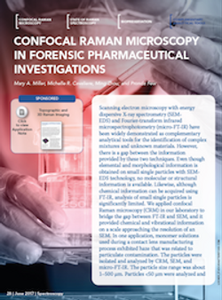 Confocal Raman Microscopy in Forensic Pharmaceutical Investigations