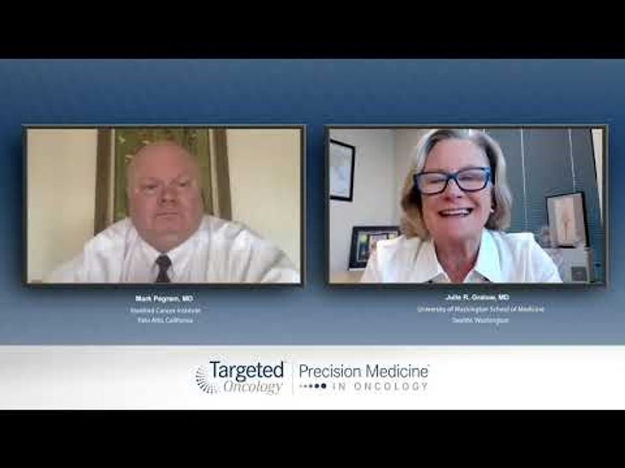 Drs Mark Pegram and Julie Gralow