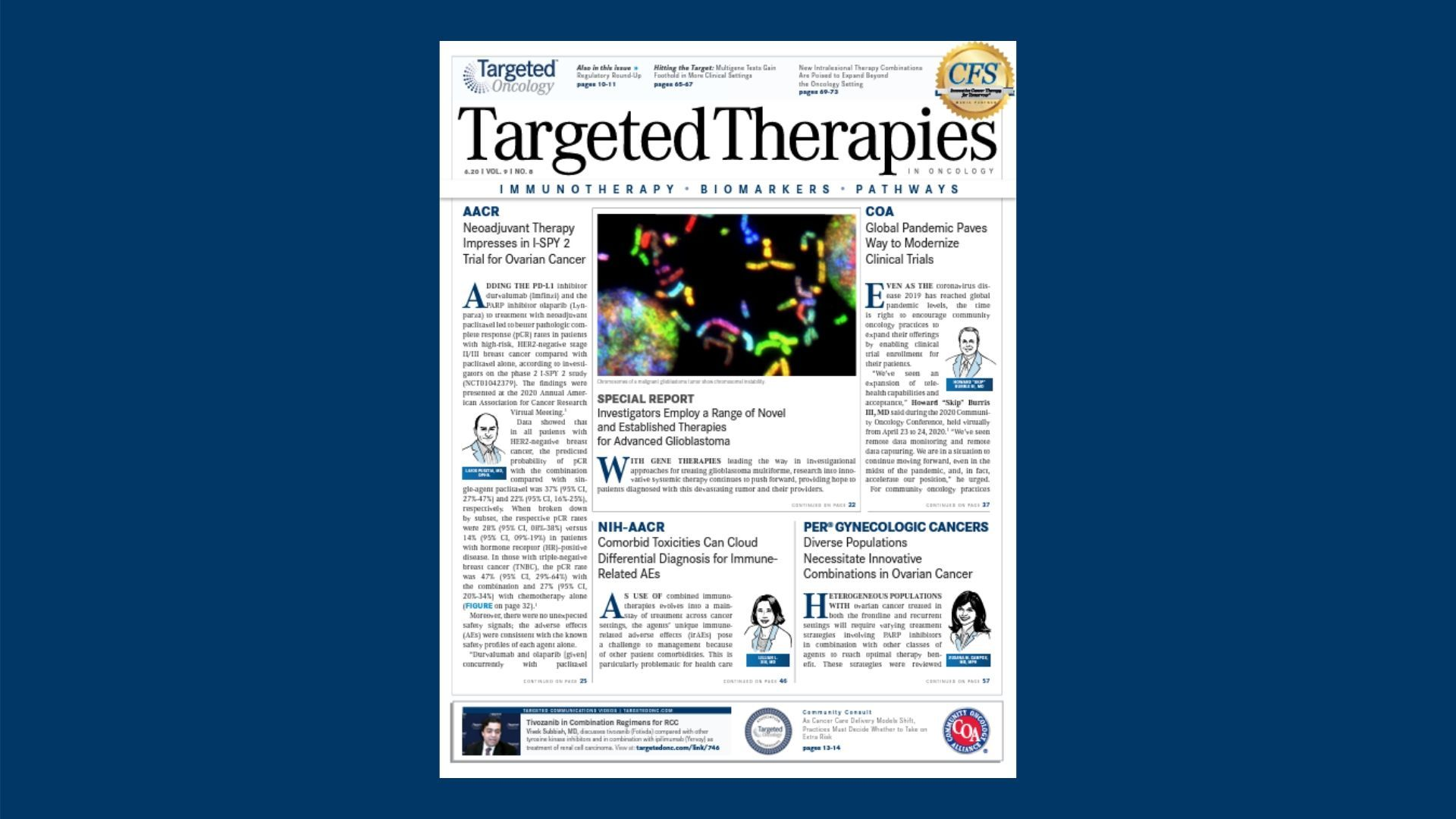 Innovative Clinical Trial Design Can Unlock Best Outcomes In Ovarian Cancer Targeted Oncology Immunotherapy Biomarkers And Cancer Pathways