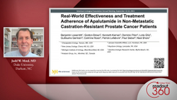 Real-world effectiveness and treatment adherence with apalutamide in nmCRPC