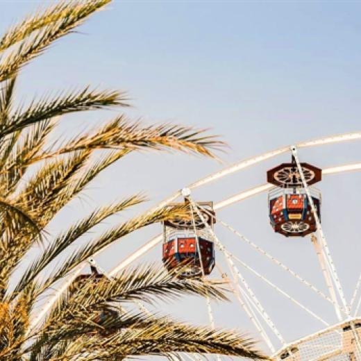 Ferris Wheel at the Irvine Spectrum