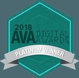 2018 AVA Digital Awards Platinum Winner