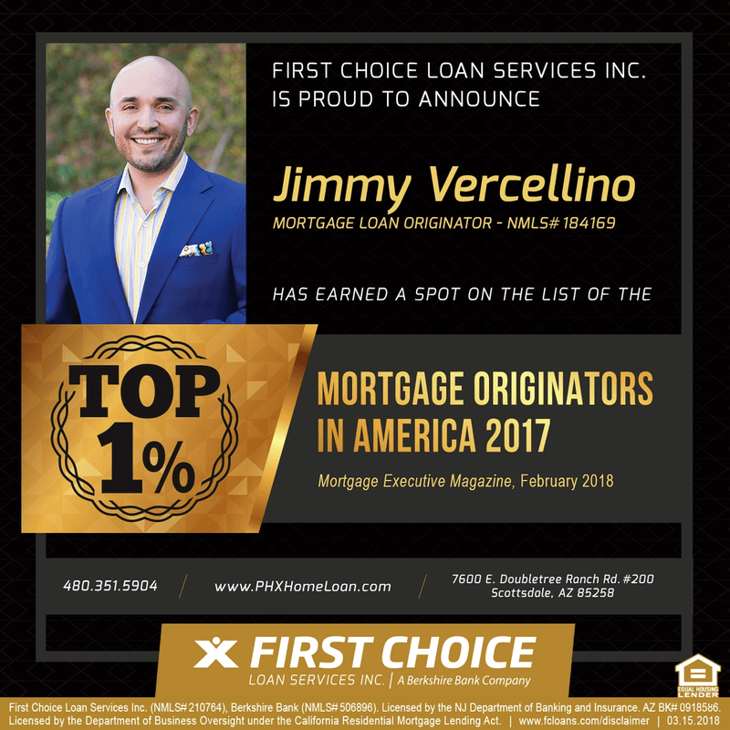 VA Loan Specialist Named Top Loan Originator