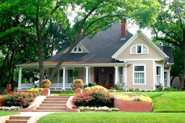 Beautiful house purchased using VA Loan.