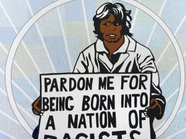 Pardon me for being born into a nation of racists