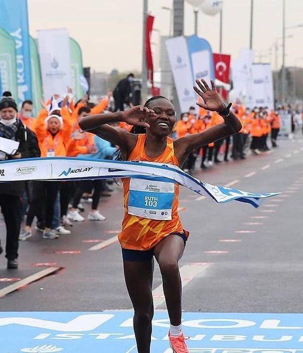 Smashing The World record for The Half Marathon - Ruth Chepngetich