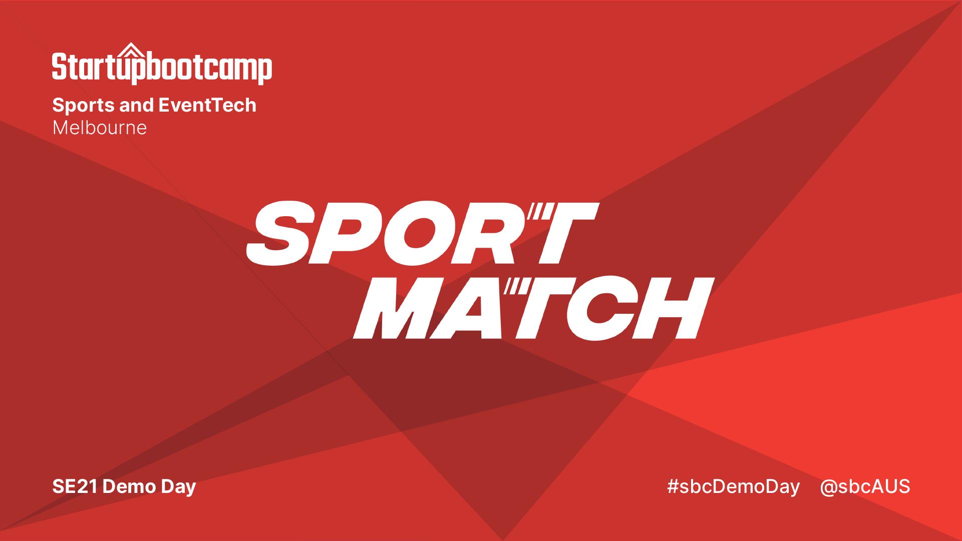 SportMatch banner