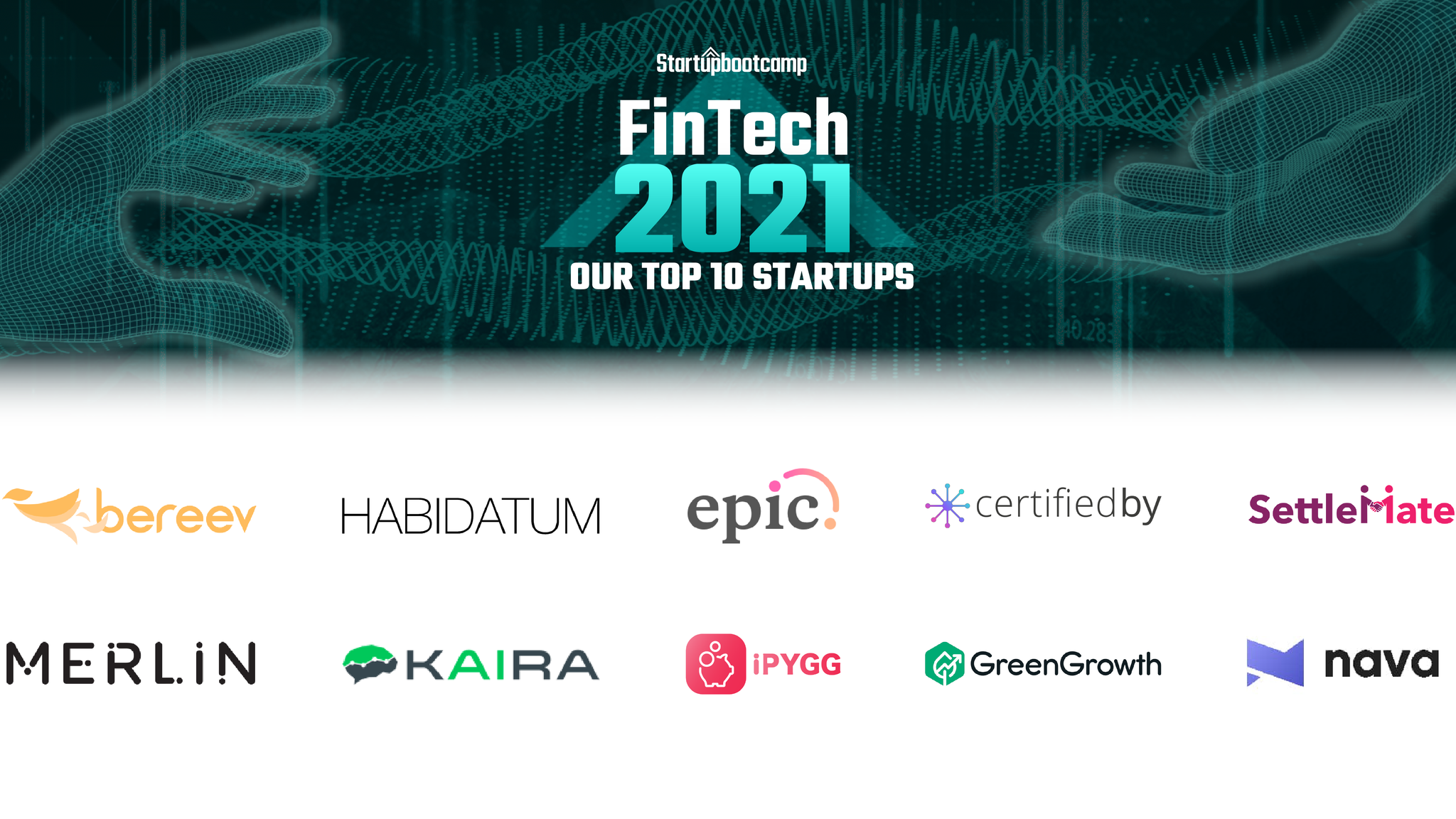 AUSTRALIA'S FINTECH ECOSYSTEM WELCOMES TEN NEW STARTUPS AND SCALE UPS.