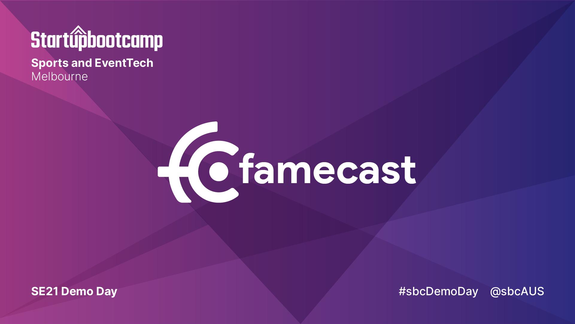Famecast banner