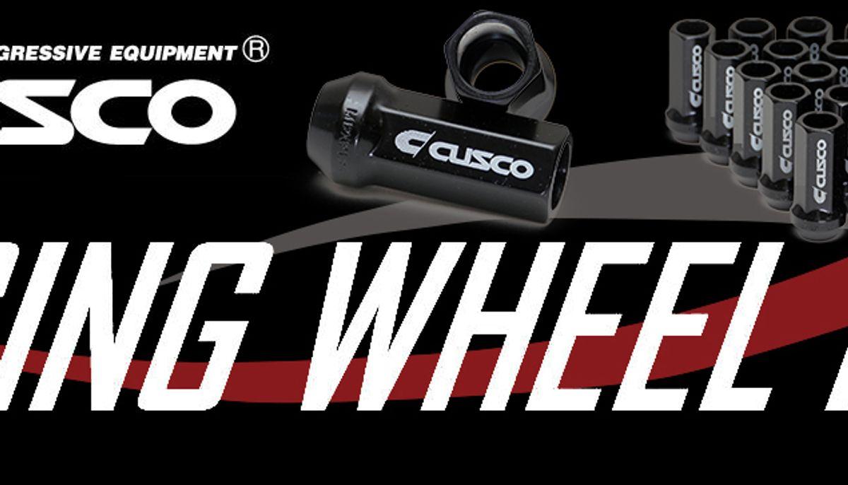 CUSCO Racing Wheel Lug Nut Set