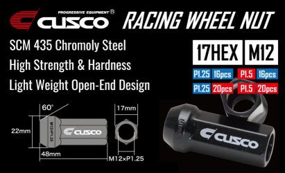 CUSCO Racing Long Lug Nut Set