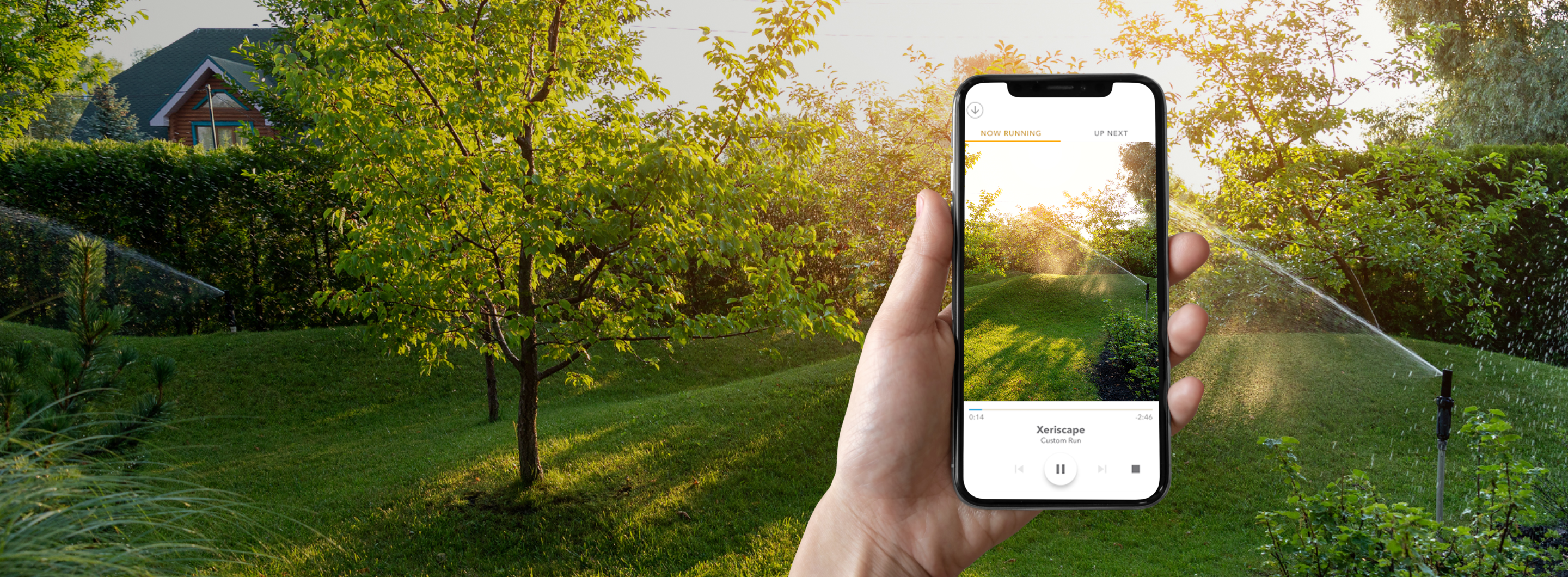 Give your yard the benefits of an app-enabled green thumb.