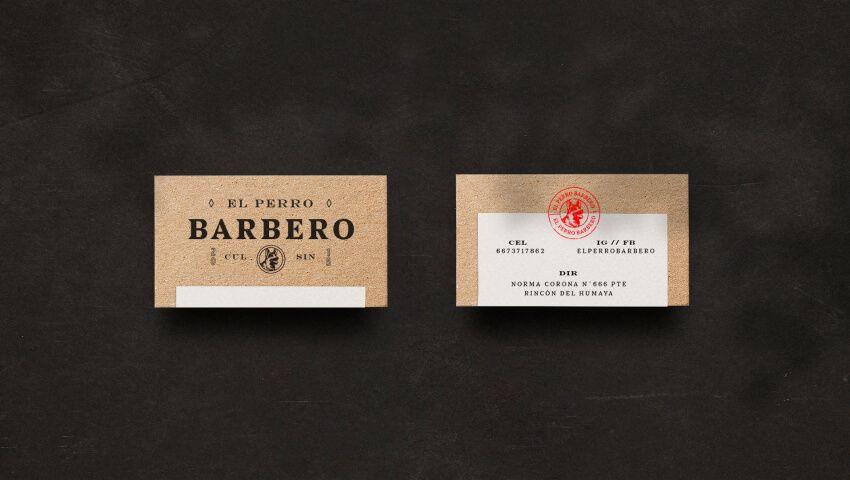 El Perro Barbero business card