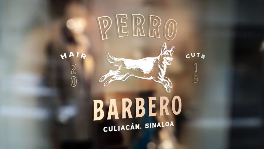 El Perro Barbero logo